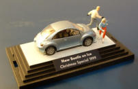New Beetle on Ice, by Wiking, 1999