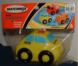 "Arriving in early 2003, and looking very much like a New Beetle, this ""Beach Patrol"" toy floats."