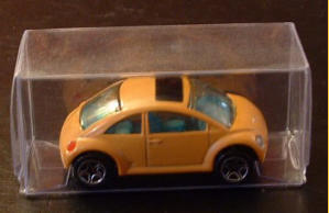 A custom-painted Matchbox Concept toy.  Note the painted sunroof.